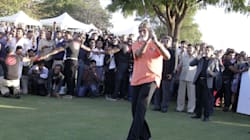When Big B Played Golf With Sir Christopher