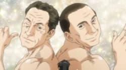 VIDÉO - Sarkozy en couple avec Berlusconi dans un dessin animé