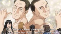 Sarkozy e Berlusconi come non li avete mai visti. Gay, innamorati e pieni di muscoli