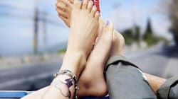 Kangana Ranaut's Feet, A Funky Anklet, A Thundercloud Tattoo -- Say Hello To First Look Of 'Katti