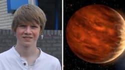 Ha 15 anni e scopre un pianeta. Al terzo giorno di