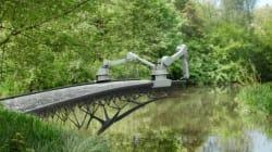 À Amsterdam, un pont sera construit en direct grâce à l'impression