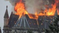 In fiamme la basilica del XIX secolo di Nantes. Colpa della