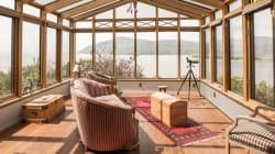 Cette maison en vente à Baie-Saint-Paul offre une vue incroyable sur le fleuve