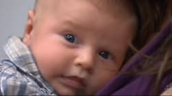 Un «bébé bleu» sauvé in