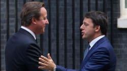 L'offerta di Cameron a Renzi: