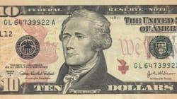 Sui 10 dollari americani comparirà per la prima volta una