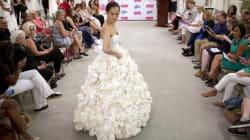 Des robes de mariée en... papier