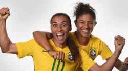 Brasil 100% nem precisou de Marta para fazer mais uma vítima na
