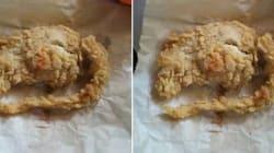 KFC affirme que ceci n'est pas un rat