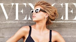 Charlotte McKinney Goes Retro Chic For Venice