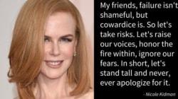 « Les femmes doivent arrêter de s'excuser de leur succès » - Nicole
