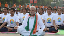 PHOTOS: Modi Leads Yoga Day Celebrations As World