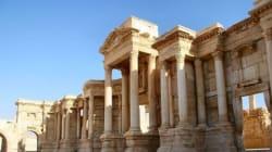L'Isis mina le rovine di