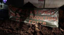 L'action coup de poing des Jeunes Agriculteurs dans