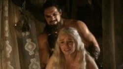 GOT: pendant cette scène de viol, Khaleesi a failli avoir un fou