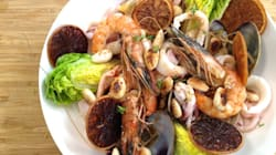 Vite fait, bien fait: coquillages et crustacés sautés, suc