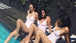 Kendall And Kylie's Matching Swimsuits Are Totes