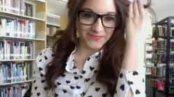 Vidéos érotiques à la bibliothèque: elle plaide