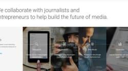 Formation de journalistes: Google lance un laboratoire en