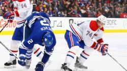 Hockey: Les Leafs et le Canadien en lever de