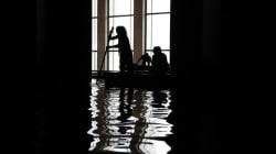 Un Français a inondé le Palais de