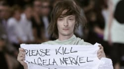 Designer Rick Owens 'Furious' With Protesting