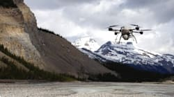 ► Drone Shows Spectacular Change In River After Alberta