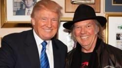 Le torchon brûle entre Neil Young et Donald