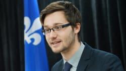 Léo Bureau-Blouin : «J'aimerais me représenter un