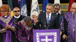 Obama chante Amazing Grace