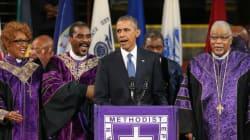 Le moment de grâce d'Obama en hommage aux victimes de