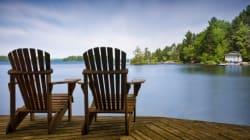 Acheter un chalet avec vue sur le lac? Voici combien vous devrez