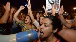 Des Marocains manifestent pour dire que