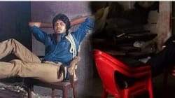 41 Years Later, Big B Recreates His Iconic 'Deewar' Pose At Literally The Same