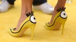 Les chaussures inspirées des Minions de Sandra Bullock sont