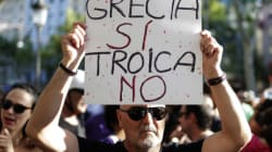 Anti-Austerity Protests In Greece As Bank Shutdown