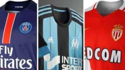 Découvrez le maillot de Saint-Etienne et tous ceux de la Ligue 1