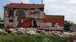 Le bunker des Hells Angels de Trois-Rivières démoli