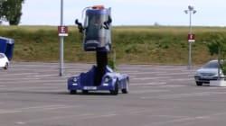 Ceci pourrait être la voiture de police du futur