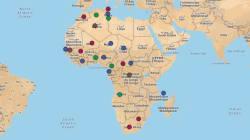 CARTE - Hollande l'Africain: depuis 2012, le président français enchaîne les