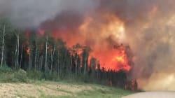 Saskatchewan: 108 feux actifs, des centaines de combattants et des milliers d'évacués