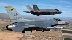 Un vecchio F-16 degli anni '70 abbatte un F-35 in uno scontro