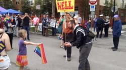 La réponse géniale d'une fillette de 7 ans à un prédicateur homophobe