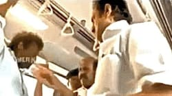 WATCH: Stalin Slaps A Passenger In The Chennai