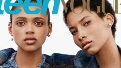 Iman, Aya et Lineisy, trois mannequins noirs, stars montantes en couverture de Teen