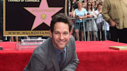Paul Rudd reçoit son étoile de l'Hollywood Walk of
