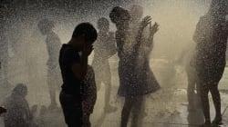 Les chaleurs extrêmes frappent l'Europe