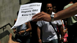 Greek Poll Shows 2 Sides Neck And