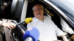 Jean-Marie Le Pen reprend possession de son bureau au